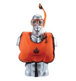 Diversco / Akona / Sherwood Akona Jr Snorkel Vest Neon Orange