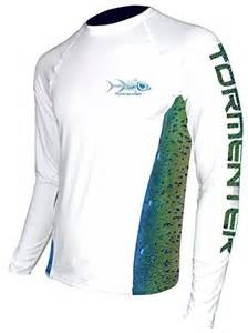 Tormenter Tackle Tormenter SPF LS Shirt - Side Fish