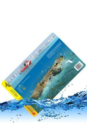 Marine Sports Mfg. Map 3D UW Ft Laud Ancient Mar