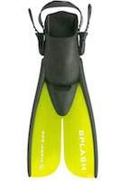 AquaLung Deep See Jr. Splash Fins -SPLIT