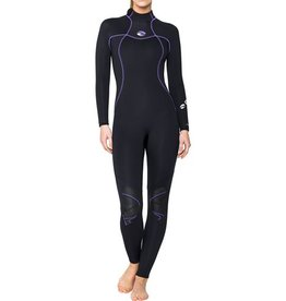 Huish Bare Womens 5mm Nixie Fullsuit Black 6