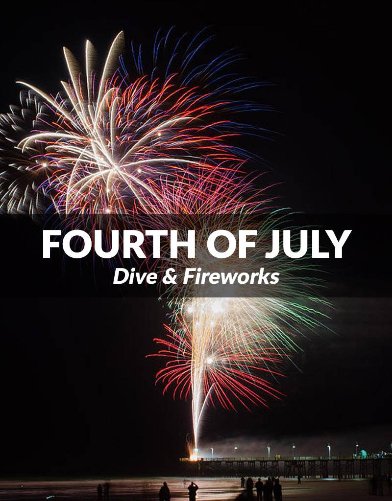 Fourth of July Dive and Fireworks