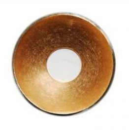 28mm Dome Gold Disc