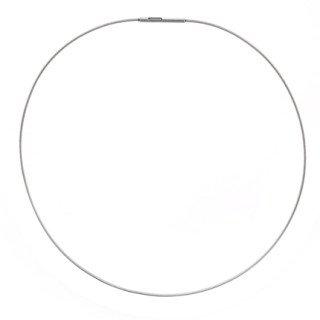 Necklace Single Strand Steel 1.3mm