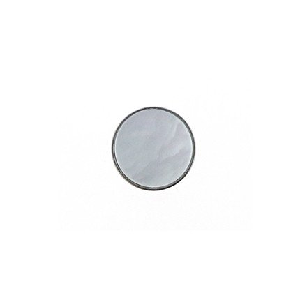 14mm Color Buttons Pearl White