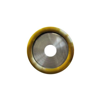 28mm Rounded Gold Disc