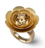 SPRING BLOSSOMS-yellow gold 21mm