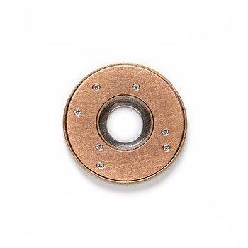 STELLA-rose gold with diamonds-24mm
