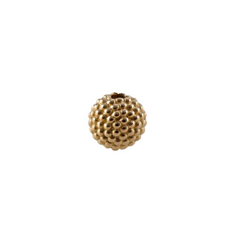 Tipit Balls Granulation Gold Plated