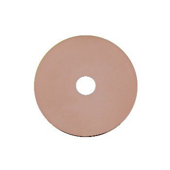 Disco Red Gold Plated 40mm polished/frosted
