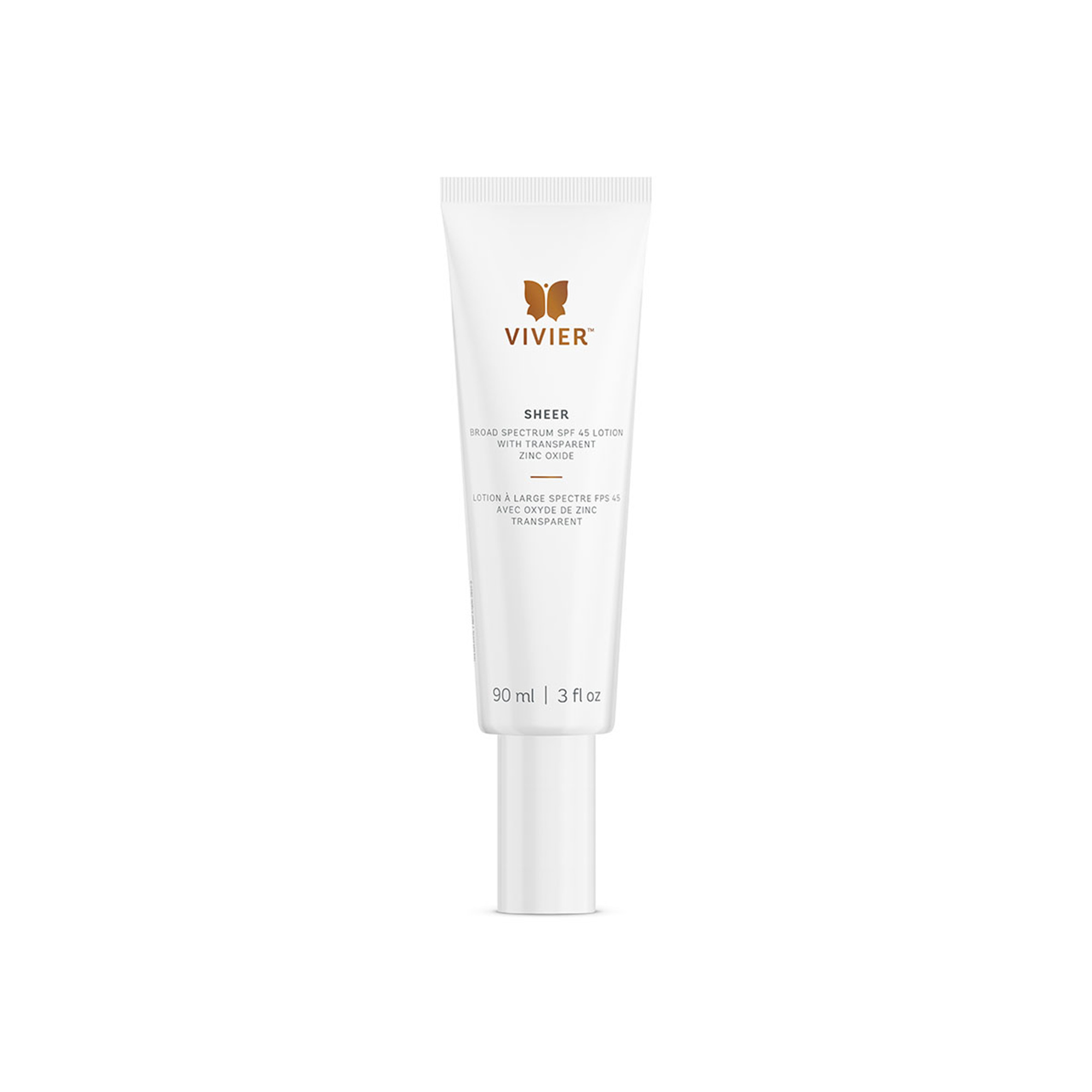 Vivier Sheer Broad Spectrum SPF 45 Lotion - 90 ml
