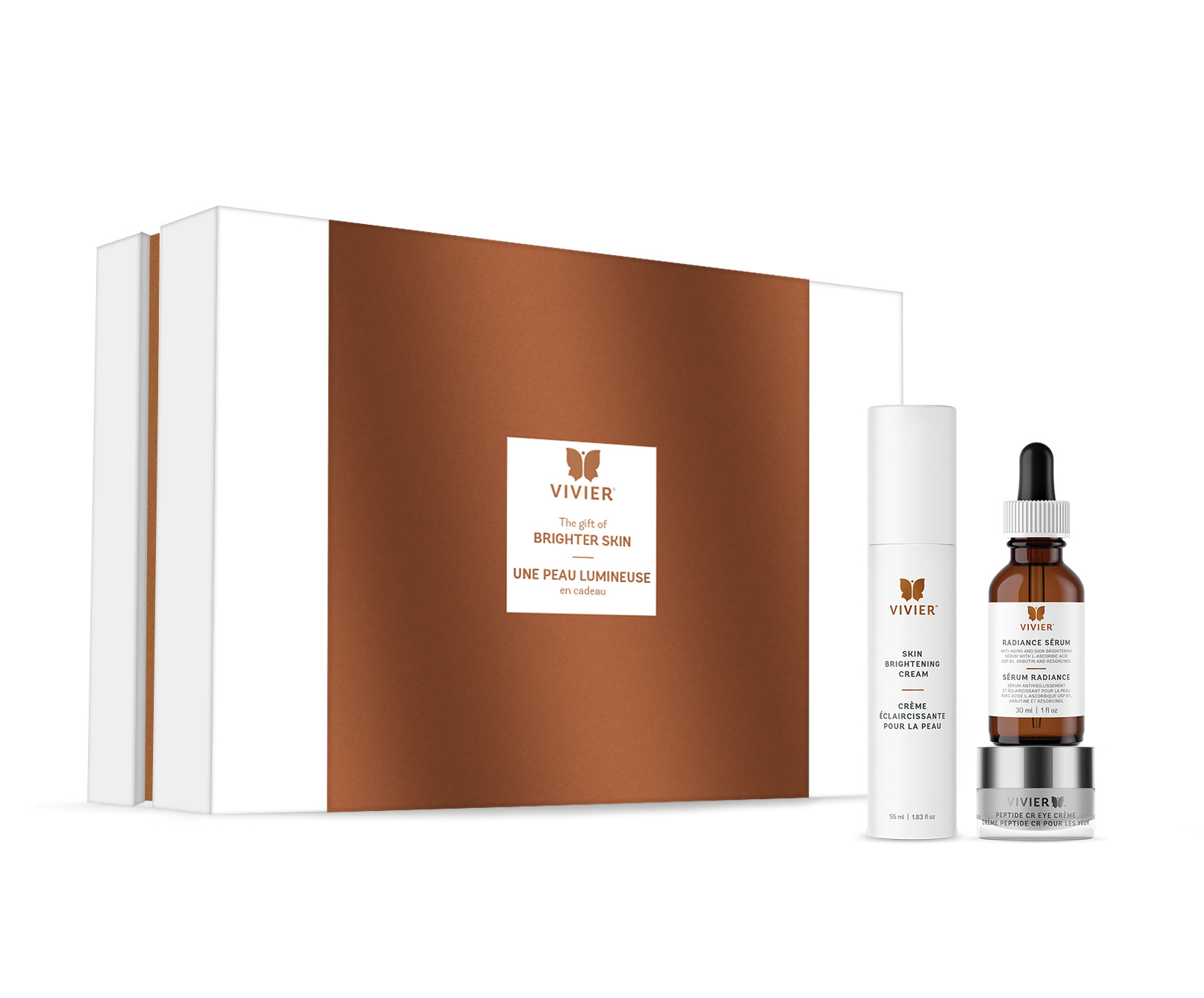 Vivier Holiday Gift Set Limited Edition - Brighter Skin