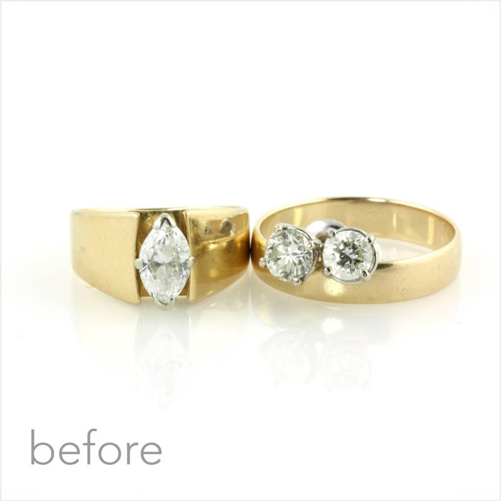 25th wedding anniversary rings