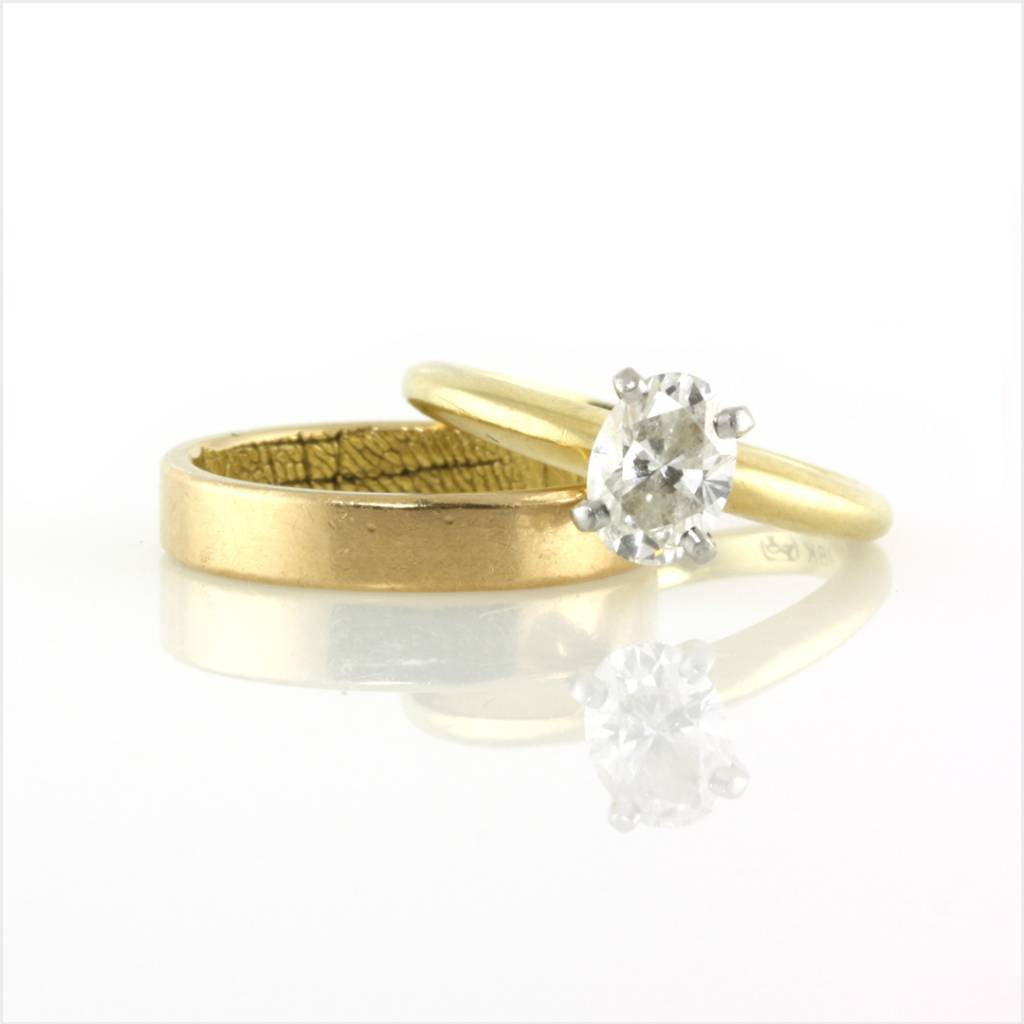 prong-set engagement ring re-envisioned