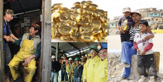 the money stone: who mines the gold you wear?