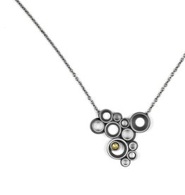 concave ~ convex FAIRMINED . necklace