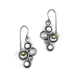 concave ~ convex FAIRMINED . earrings