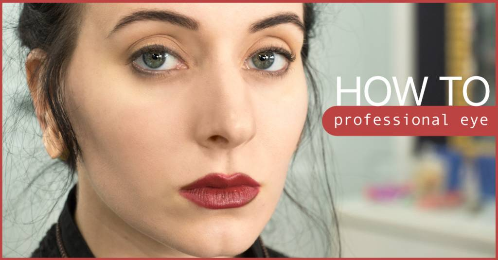 How to Do A Professional Eye Look