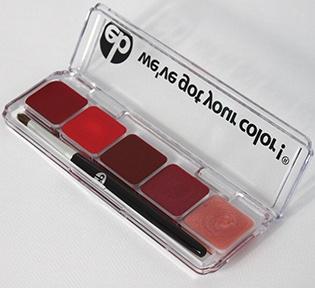 Winter [Red] Vivid Winter Lip Palette