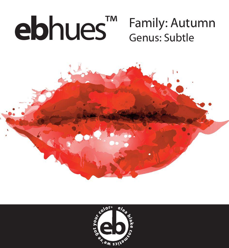 Autumn [Orange] Subtle Autumn Lip Palette
