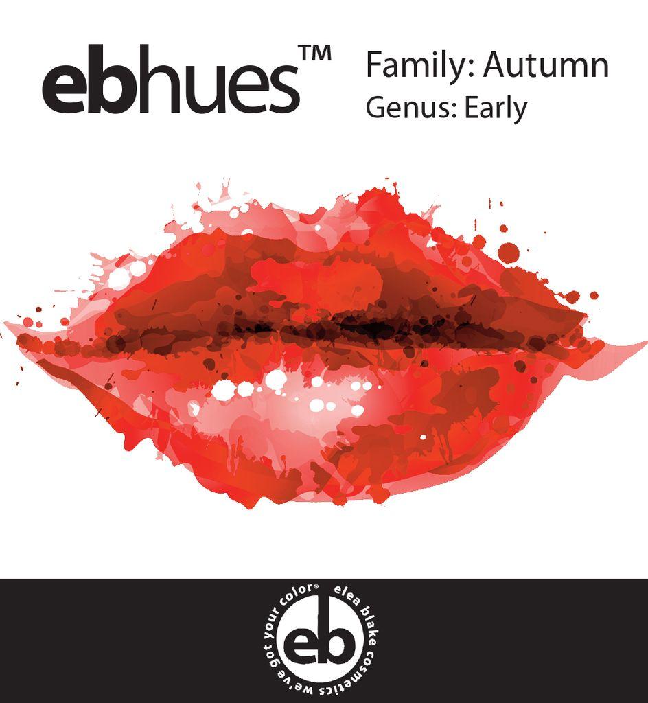 Autumn [Orange] Early Autumn Lip Palette