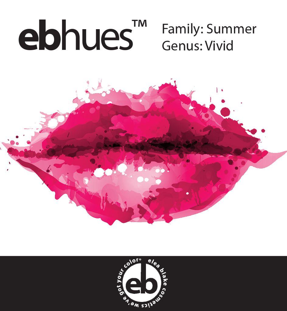 Summer [Blue] Vivid Summer Lip Palette