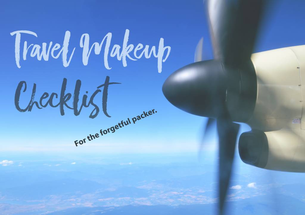 Travel Makeup Checklist