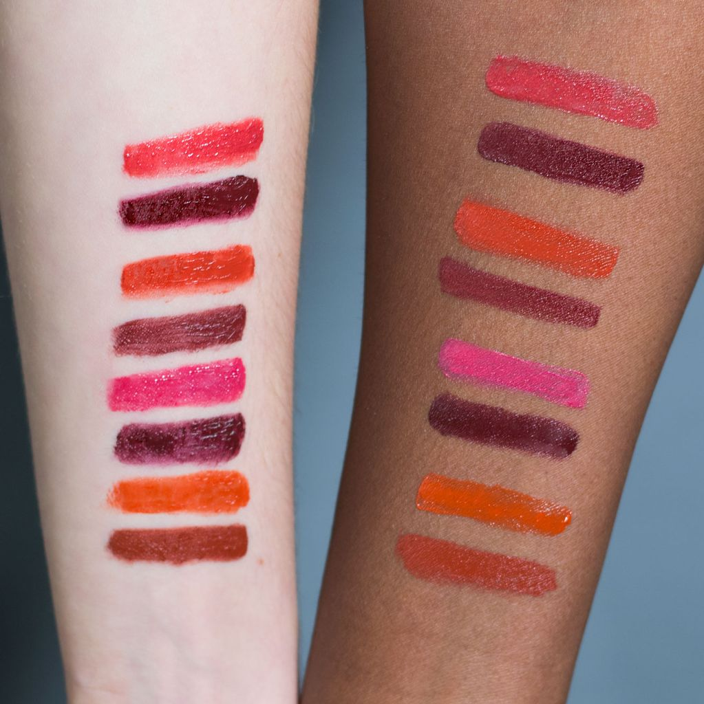 lip drape swatches