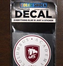 Colorshock Colorshock CA Seal Sticker white