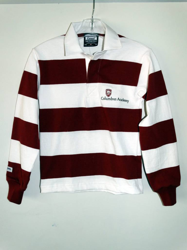 "Barbrian Rugbywear Barbarian Childrens 3"" Stripe Casual Rugby"