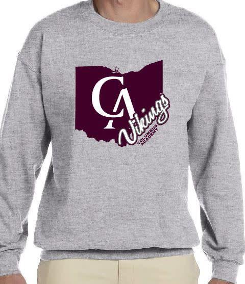 gildan Adult CA State sweatshirt