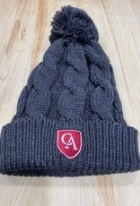 RIchardson Chunk twist knit beanie grey