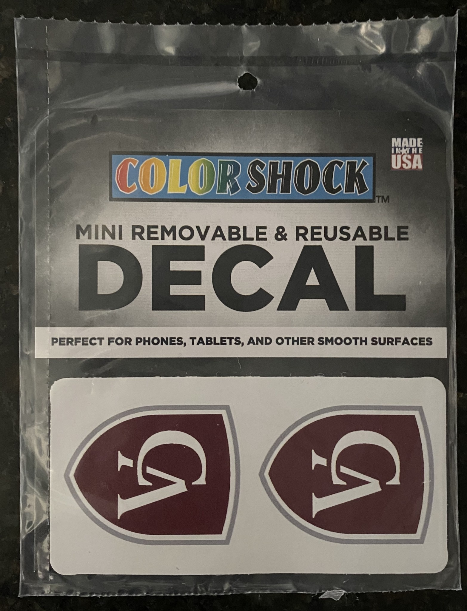Colorshock Color Shock Media Decal