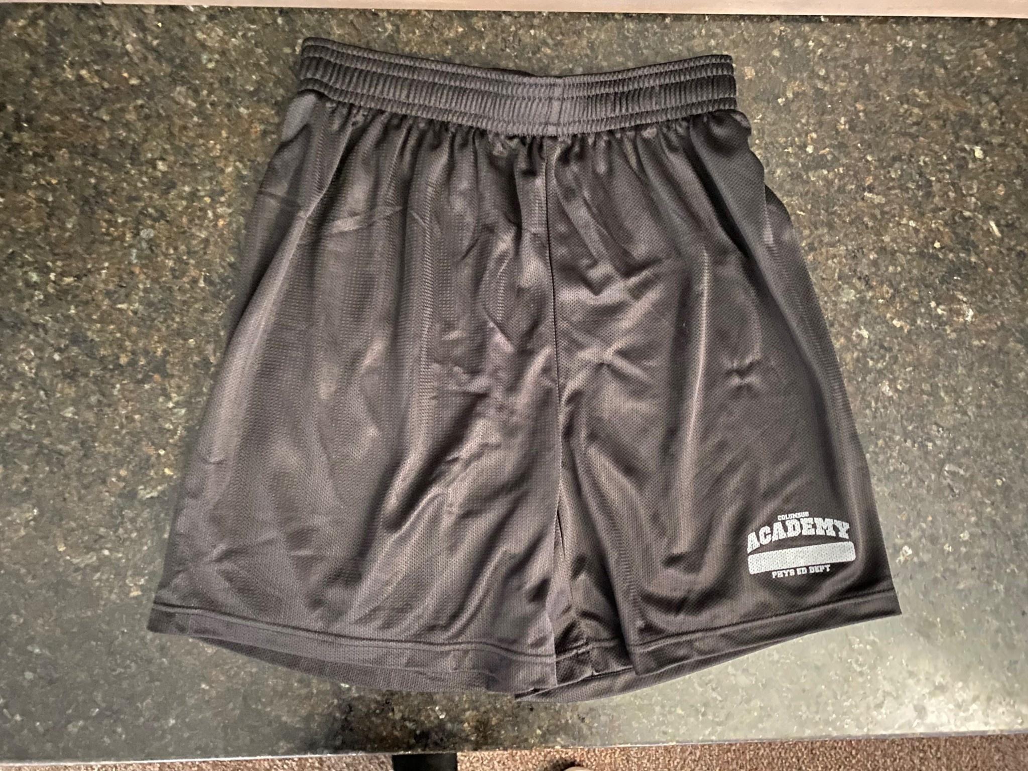 Badger Badger GREY LOGO Adult Shorts