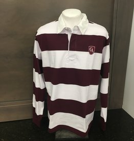 Charles River Charles River stripe rugby shield