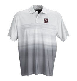 Vantage Men's Vansport Pro Ombré Print Polo - Storm Grey