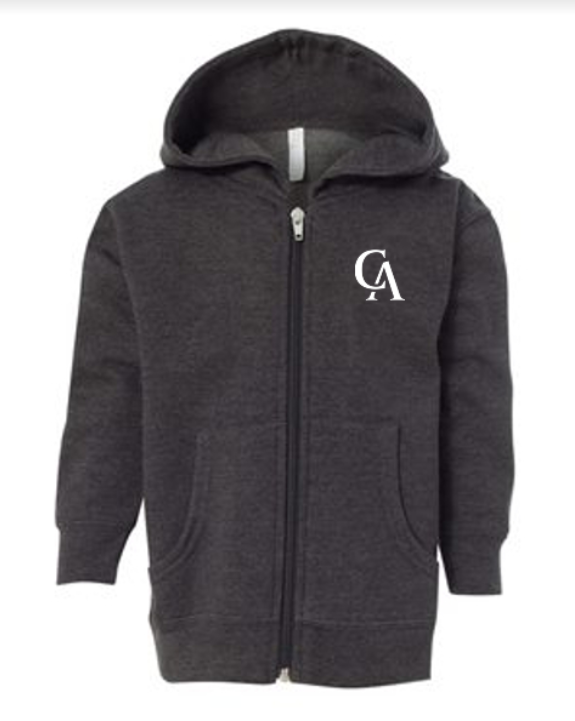 Rabbit Skins Toddle Zip Fleece hoodie