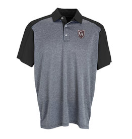 Vantage Vansport Men's Two-Tone polo with Shield