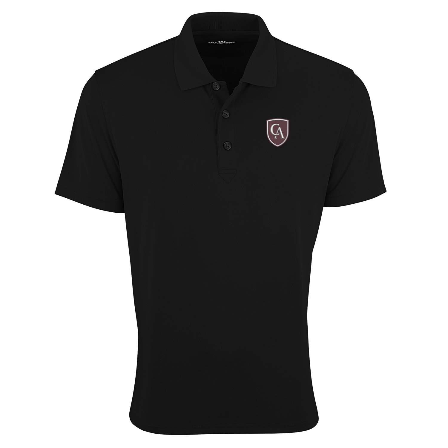 Vantage Vansport Men's V-Tech Performance Polo with Shiled