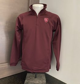 BAW BAW Youth Quarter Zip Fleece Shield