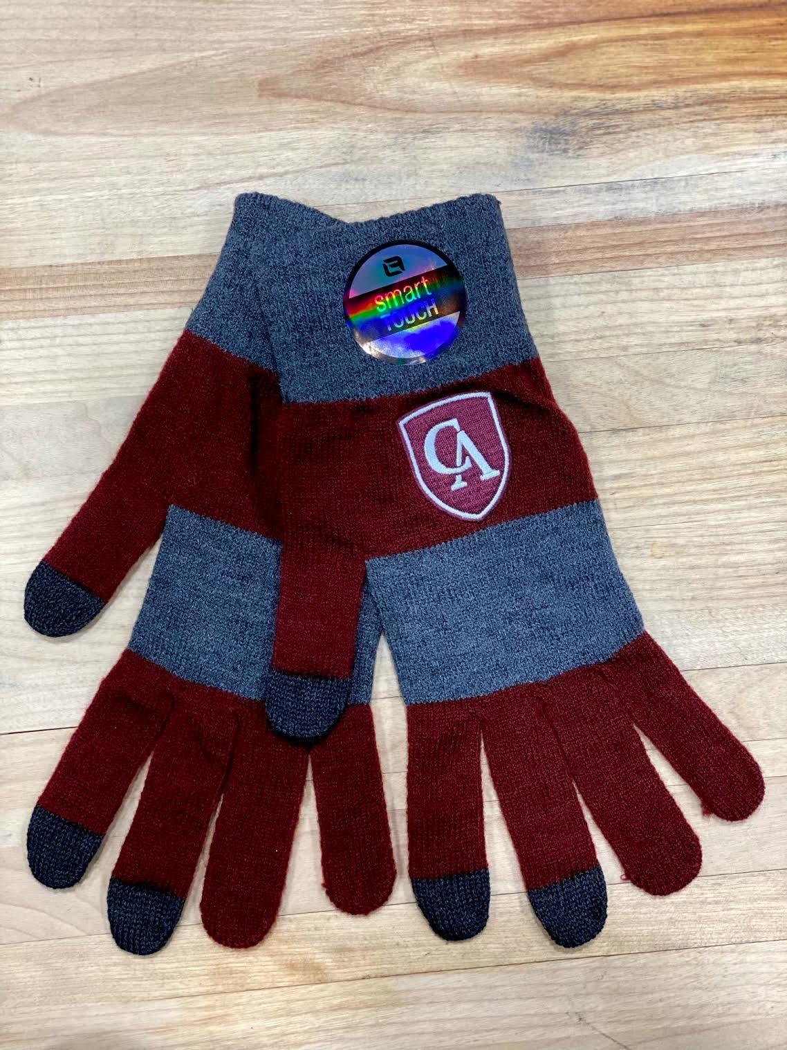 LogoFit Logofit Trixie Knit Striped Texting Glove