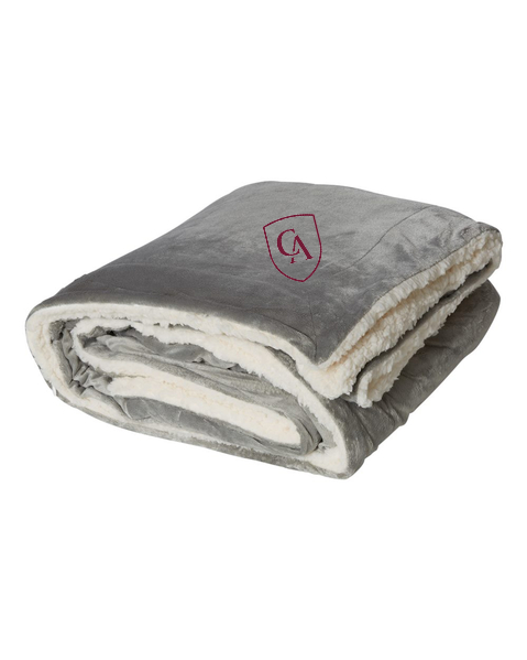 Alpine Fleece Oversized Sherpa Blanket