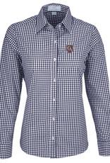 Vantage Vantage Women's Easy-Care Gingham Check Shirt #1108