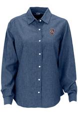 Vantage Vantage Women's Hudson Denim Shirt #1978