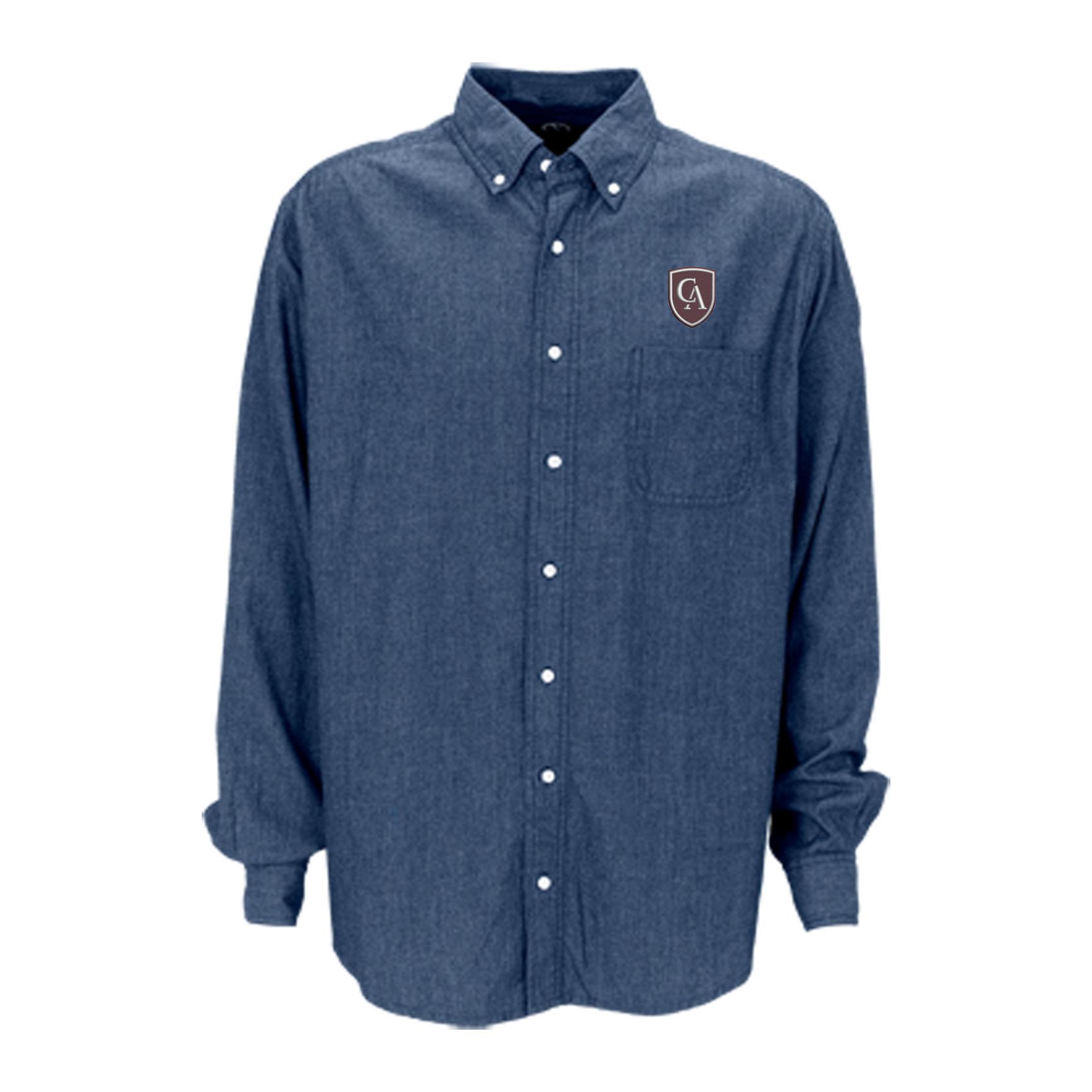 Vantage Vantage Men's Hudson Denim Shirt #1977