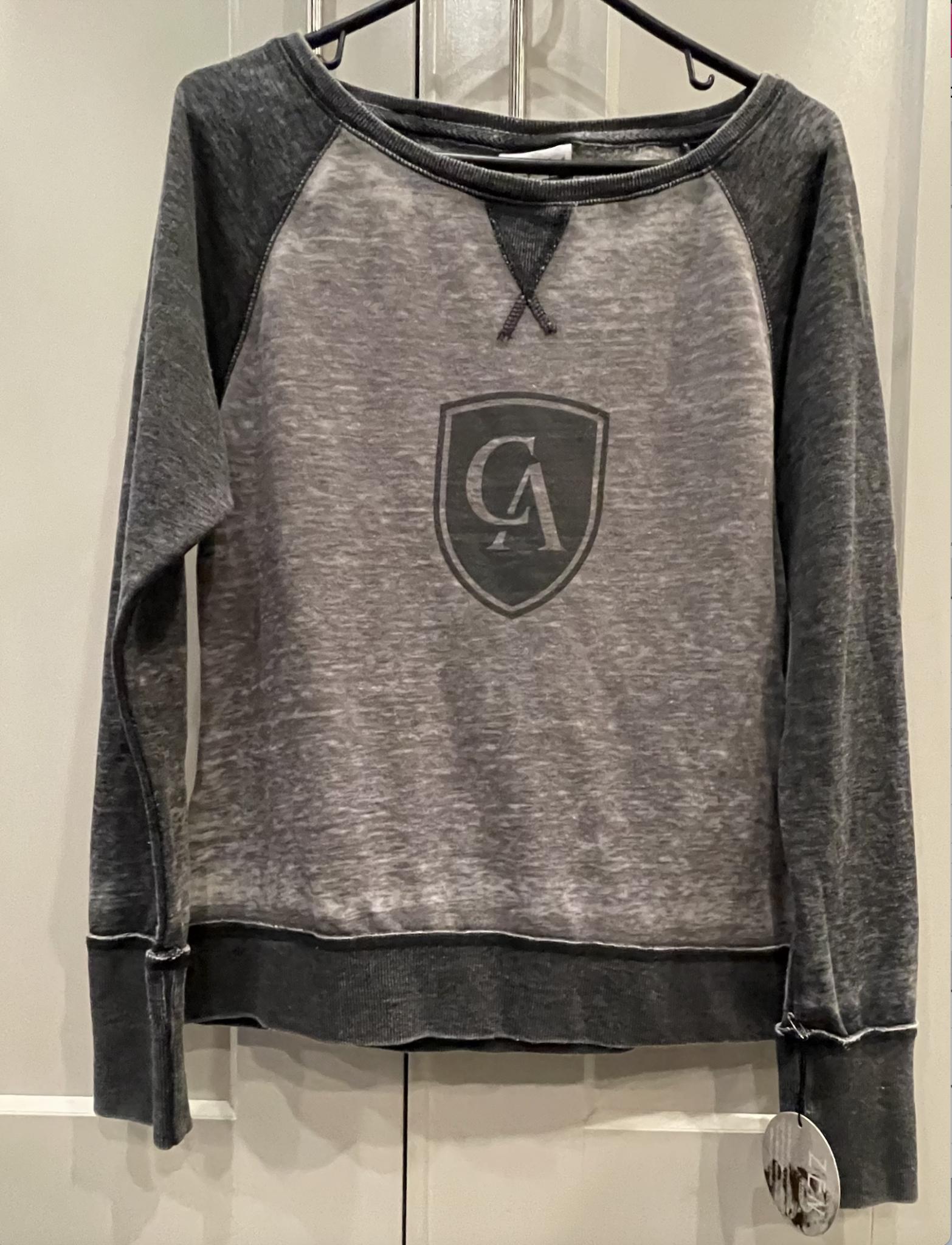 J. America Women's Zen Fleece Raglan Sweatshirt
