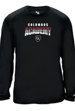 Badger Badger Adult 3 Color Academy Performance Tee L/S