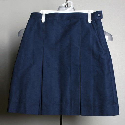 A+ A+ Girl's Uniform  2 kick pleat Skirt
