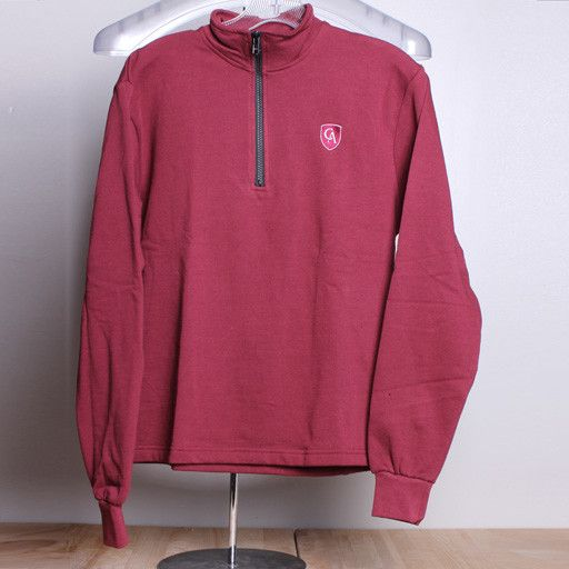 A+ A+ Youth 1/4 zip cotton pullover