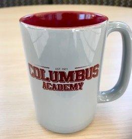 nordic Nordic maroon/grey Columbus Academy Mug